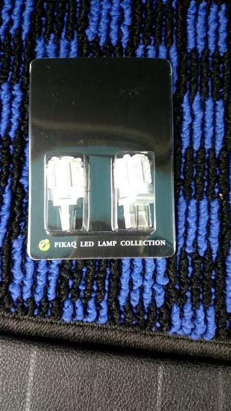 ピカキュウ T20D HYPER SMD 18連 ウェッジダブル球 無極性 LEDカラー:レッド