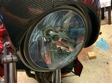 バンディット250VPHL H4 Hi/Lo 35W LEDの全体画像