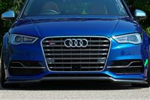 S3(セダン)Audi純正(アウディ) USフロントグリルの単体画像
