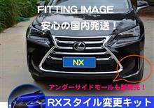 NXハイブリッドネクステージジャパンインターナショナル フロントアンダーサイドモールディングの全体画像