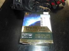 CBR1100XX スーパーブラックバードSphere Light LEDバルブ H7 ライジングの単体画像
