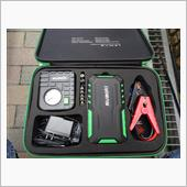 suaoki suaoki G7plus 18000mAh大容量 ジャンプスターターセット モバイルバッテリー エアーコンプレッサー 12V車用