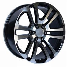エスカレードOE Performance 158BM 20x9 6x139.7 Black/Machinedの単体画像