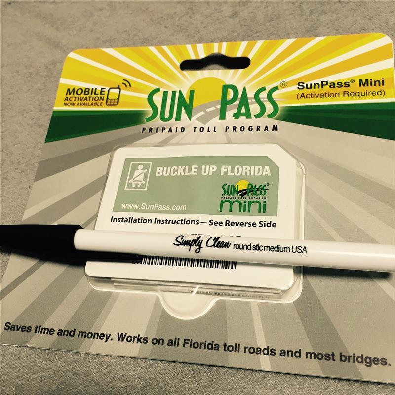 Sun Pass SunPass mini のパーツレビュー   オプトラ ワゴン