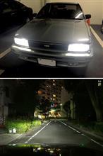 ブルーバードPHILIPS X-treme Ultinon LED H4 LED Headlight 6200Kの全体画像