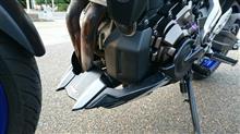 MT-07Puig(プーチ)  エンジン スポイラー(カーボンプリント)の全体画像
