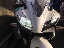 YZF-R125fcl LEDヘッドライト バイクキット H7の全体画像