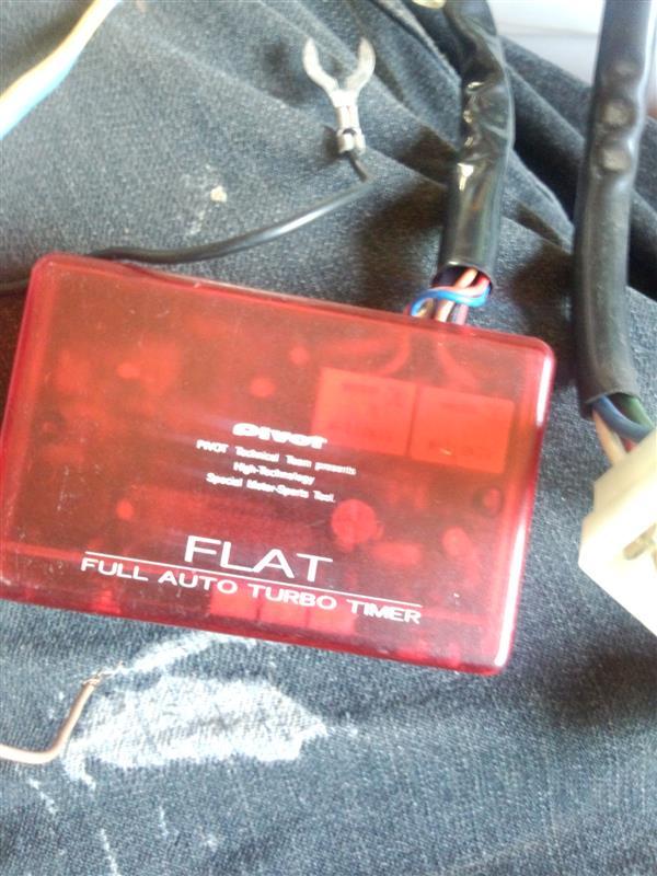 """PIVOT フルオートターボタイマー """"FLAT"""" (FLAT-B)"""