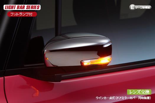 REIZ LEDウインカーミラーレンズキット