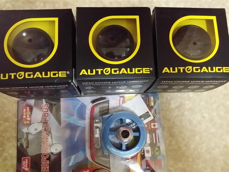 AutoGauge 52φ油圧計