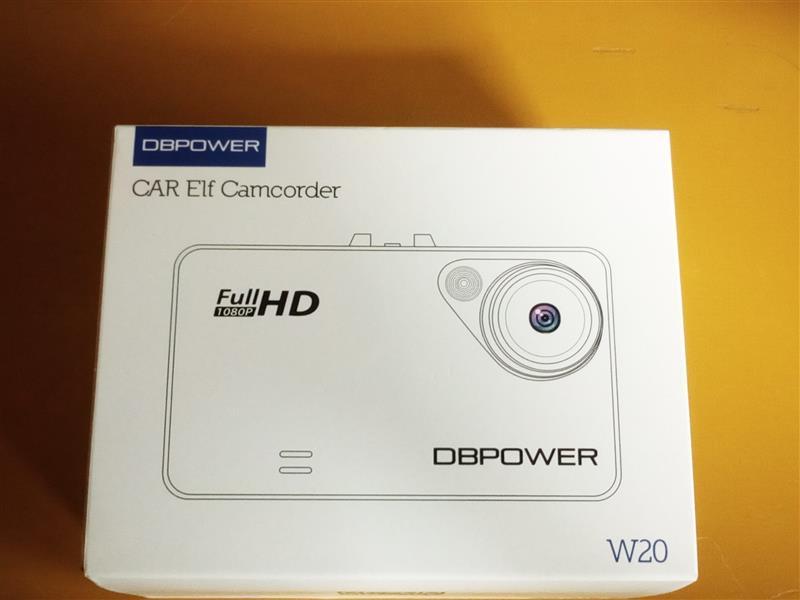 DBPOWER ドライブレコーダーW20