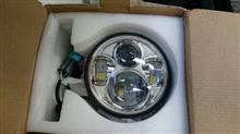 ダイナ ローライダーノーブランド LEDヘッドライトユニットの単体画像