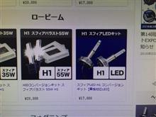 NSXSphere Light HIDヘッドライト H1 6000K  Sphere Light HIDヘッドライト H1 6000K の単体画像