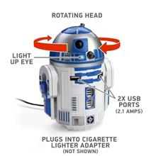 不明 スターウォーズ R2-D2 USB 車載充電器