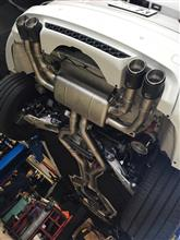 X5MAKRAPOVIC Evolution Exhaust Systemの全体画像