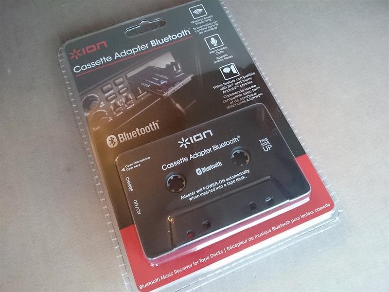 ion audio cassette adapter bluetooth