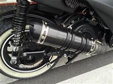 BW'S125ATLAS RPM Ⅹ),BW`S R アルミホイール前後セット ブラック TA-RPM-WH4CBKS の全体画像