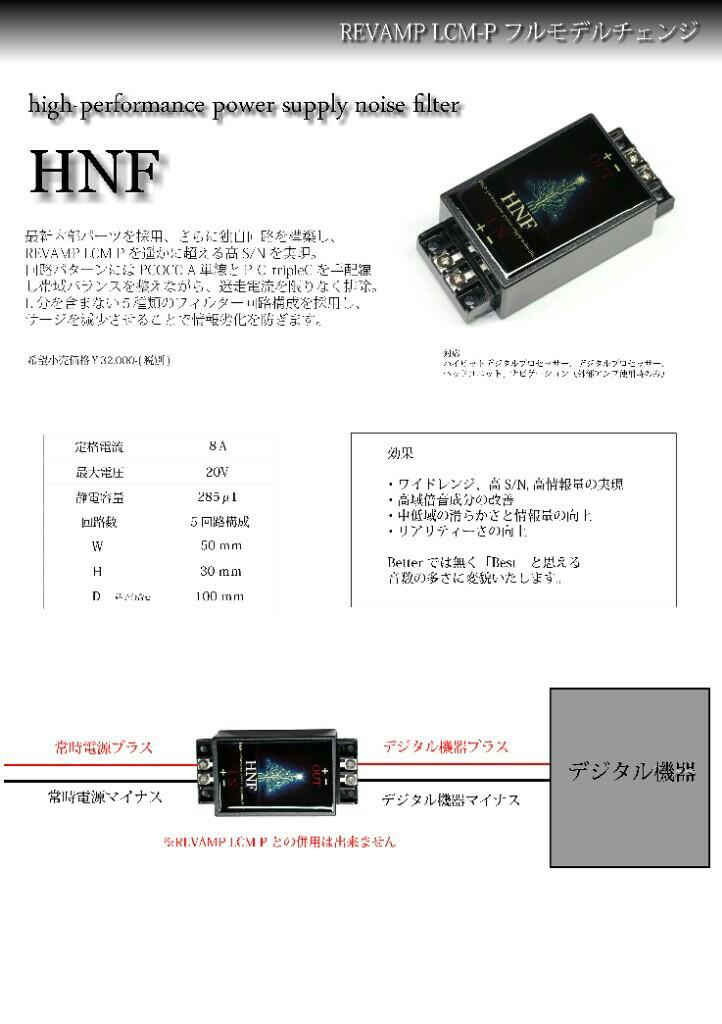 Sound suspension HNF
