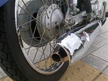 その他 (バイク)BRD / 3次元テーパーマフラー typeRの全体画像