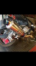 G-MAX125BEAMS R-EVO チタンマフラーの単体画像