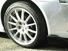 ギャランフォルティス三菱自動車 CZ4A純正ホイールの単体画像