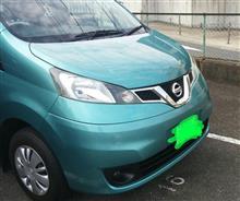 NV200バネット日産(純正) NV200タクシー用ラジエターグリルの全体画像
