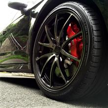 RS3 スポーツバックRAYS VOLK RACING G25 D-BK 2015 Limited Editionの単体画像