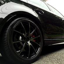 RS3 スポーツバックRAYS VOLK RACING G25 D-BK 2015 Limited Editionの全体画像