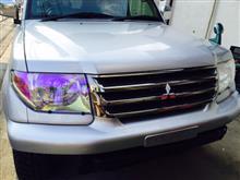パジェロイオ三菱自動車(純正) ビレットグリルの全体画像
