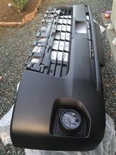 ハイエースバントヨタ(純正) フロントバンパーの単体画像