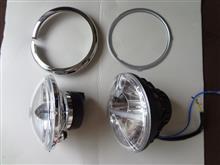 スポーツスターXLシリーズキジマ LEDヘッドライトの全体画像