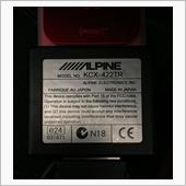 ALPINE KCX-422TR(充電アダプター for iPod)