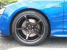 S5 カブリオレRAYS VOLK RACING G50の単体画像