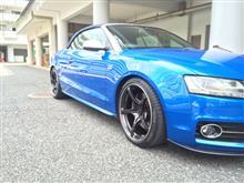 S5 カブリオレRAYS VOLK RACING G50の全体画像