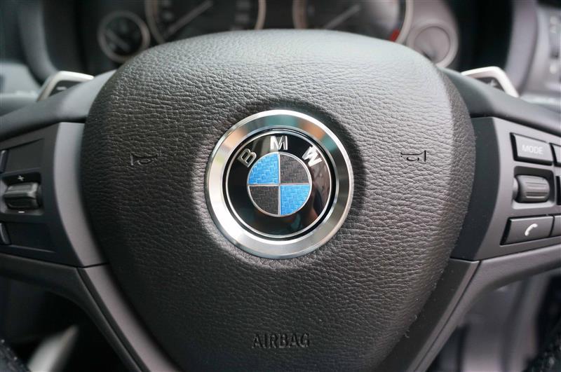 メーカー・ブランド不明 Silver Car Steering Wheel Center Decoration Ring Cover