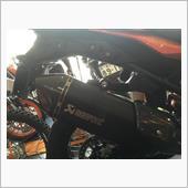 KTM(純正) アクラポビッチスリップオンサイレンサー