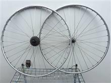 ダイアモンド ロードレーサーメーカー・ブランド不明 700C 36H チューブラーホイールF&Rの単体画像