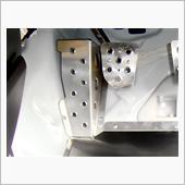 OKUYAMA アクア NHP10 DASH ドライバーフットレスト