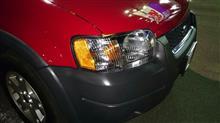 エスケープFord Headlights Headlamps Left & Right Pair Set NEW for 01-04 Ford Escapeの単体画像
