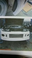 スカイラインGT‐RAUTO  GARAGE  TBK フロント  バンパー  スポイラーの単体画像