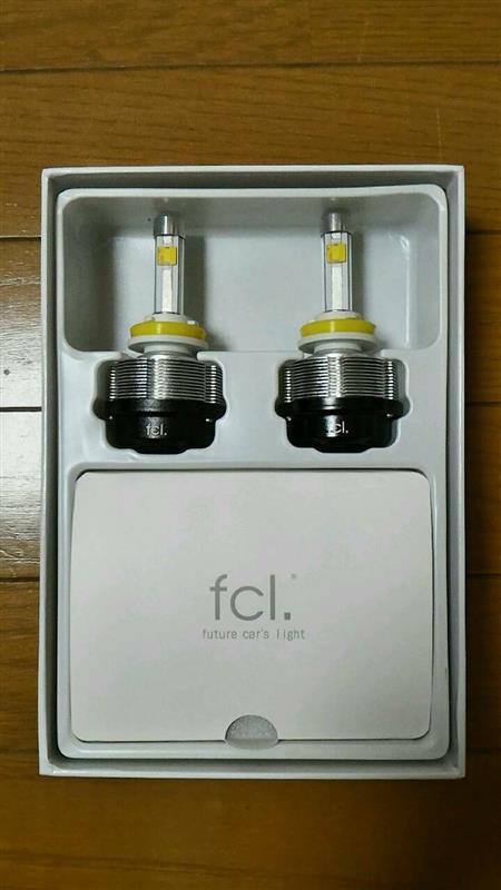 fcl LEDヘッドライト フルキット H8/H11/H16