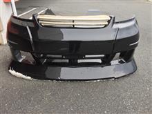 S-MXFABULOUS FRONT BUMPER SPOILERの単体画像