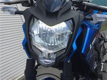 Z250SL無名 LEDヘッドライト ホワイト H4の単体画像
