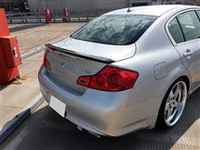G25Shao zu Auto Parts Carbon Trunk Rear Spoilerの単体画像