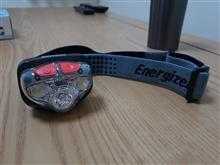 フォワード小泉成器 Energizer ヘッドライト HDL250ブラックの全体画像