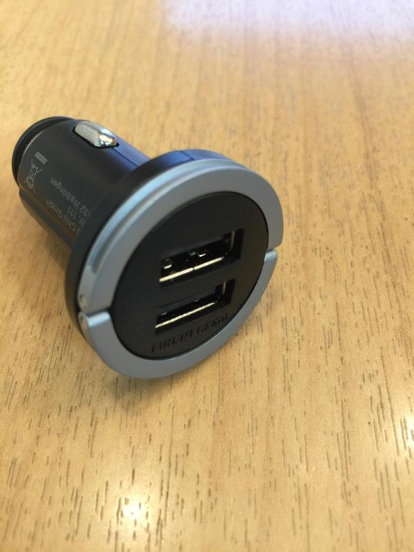 Wicked Chili シガーソケット デュアル USB充電器