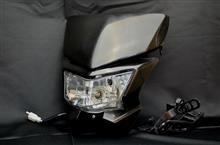 KDX200SRメーカー不明 ヘッドライトカウルの単体画像