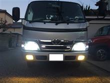 ダイナトラックライトコレクション HIDコンバージョンキット モデル信玄 H4 リレー付 35W 6000Kの全体画像