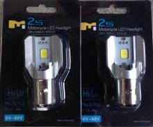 CBR125Rsafego M2S Motorcycle LED ヘッドライトの単体画像