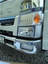 キャンター三菱自動車(純正) メッキバンパーコーナーの単体画像